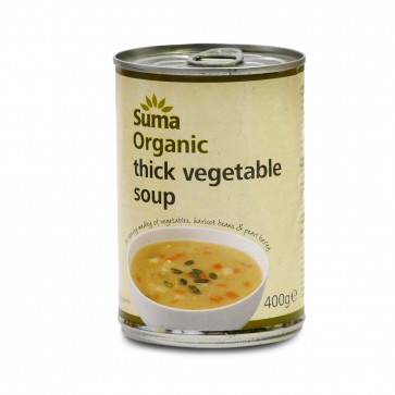 Organic Vegetable  Soup 400g